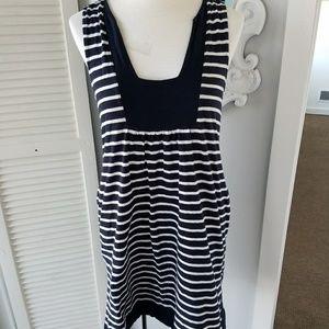 J. Crew Striped Dress with pockets